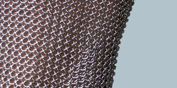 Metallgeflechte schlachthausfreund Markisenstoff meterware schweiz