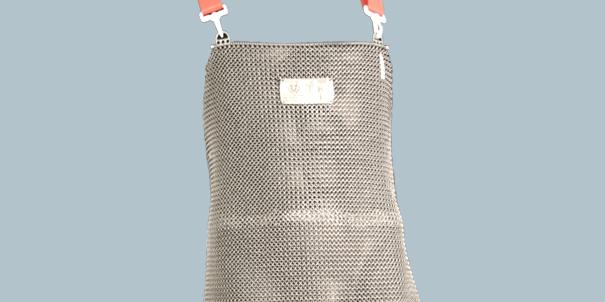 Schlachthausfreund-detektierbare-Produkte-detectable-Products-Stechschutzschuerze-Metal-Mesh-Apron
